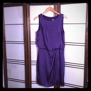 Vince Camuto Purple Silk Dress